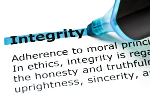 Integrity and honesty are considered a virtue and social ideal.